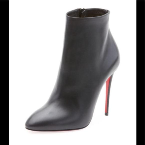 56b855081dcc Christian Louboutin Shoes - Eloise black bootie Christian Louboutin sz 40.5